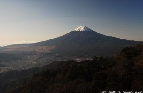 富士山ライブカメラ2009年11月15日