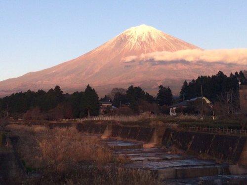 富士山(富士宮市上井出)2015年12月19日