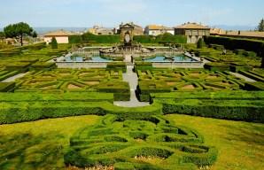 Mannerist garden of Villa Lante in Bagnaia near Viterbo, Lazio/Divulgação