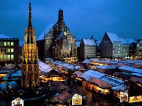 Mercado de Natal - Nuremberg.Alemanha Divulgação