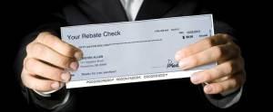 Example Rebate Check