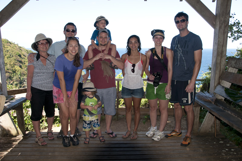 Our family on Little Tobago
