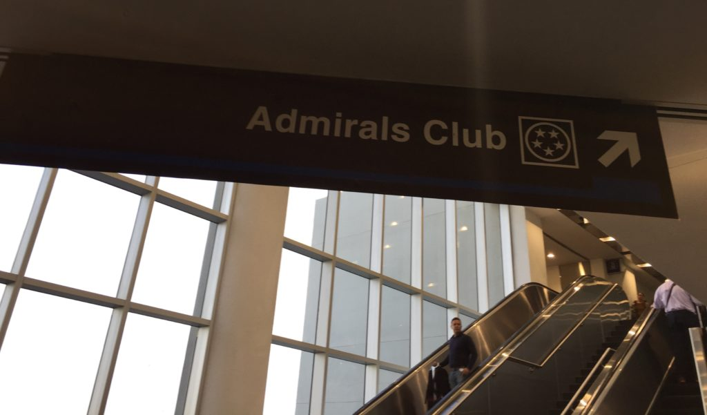 Le Amiral Club de American airlines