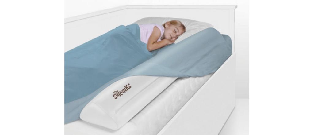 Barrière gonflable de voyage pour lit d'enfant The Shrunks