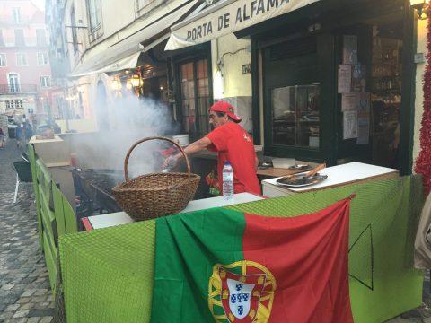 Alfama à Lisbonne en famille avec enfant