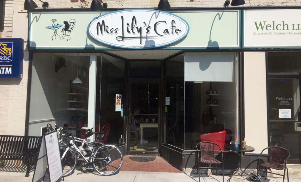 Miss Lily's Cafe Sandbanks