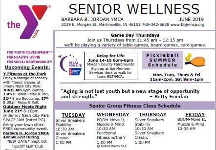 June 2019 Senior Newsletter