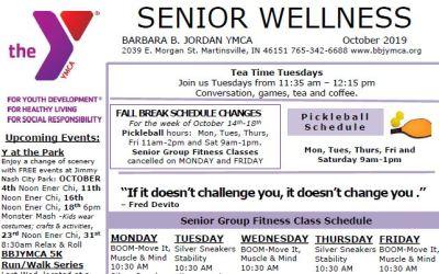 October 2019 Senior Newsletter