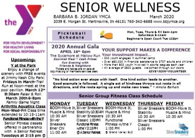 March 2020 Senior Newsletter