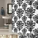 Details About Ez On Beacon Hill Fleur De Lis 70 X75 Hookless Fabric Shower Curtain Liner