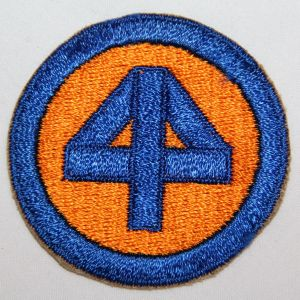 G008. WWII 44TH INFANTRY DIVISION PATCH