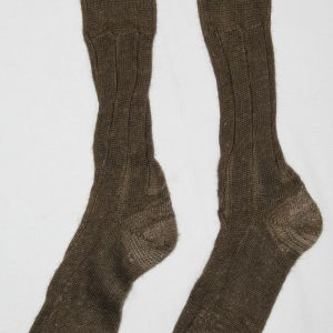 B009. RARE PAIR OF WWI U.S. KNIT WOOL FIELD SOCKS