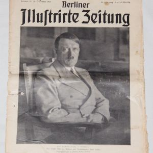"R007. PRE WWII 1936 DATED ""BERLIN ILLUSTRATED NEWSPAPER"""
