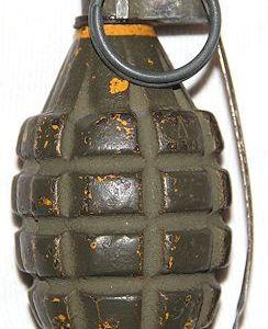 E. WWII U.S. FIELD GEAR & ORDNANCE, GRENADES, PACKS, BELTS, POUCHES, BAGS, STRAPS