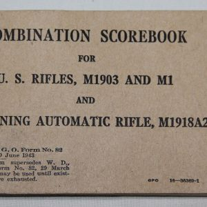 J. WWII U.S. PAPER ITEMS, MANUALS, UNIT HISTORIES, BOOKS, BROCHURES, LETTERS, POSTERS