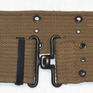 E005. NICE WWII 1944 DATED BRITISH MADE PISTOL BELT