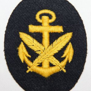 O.005. WWII GERMAN KRIEGSMARINE WRITER PETTY OFFICER SLEEVE INSIGNIA