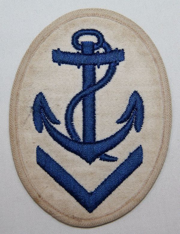 O.003. WWII GERMAN KRIEGSMARINE CHIEF PETTY OFFICER SLEEVE INSIGNIA