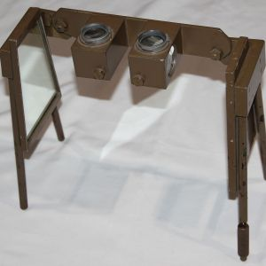 M007. WWII JAPANESE STEREOSCOPE MAP READER BY NIKKO