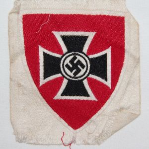 O.028. WWII GERMAN DRKB MEMBERSHIP ARMBAND INSIGNIA