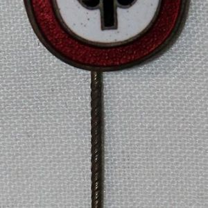 P033. WWII GERMAN RAD MEMBERS COMMEMORATIVE LAPEL PIN