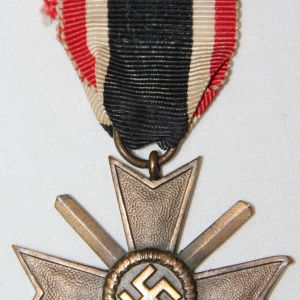 Q051. WWII GERMAN 2ND CLASS WAR MERIT CROSS WITH SWORDS
