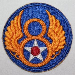 G162. WWII OFF CENTER VARIATION 8TH AAF PATCH