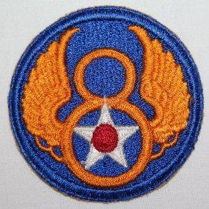G164. WWII 8TH AAF PATCH