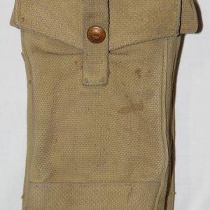 E014. WWII BRITISH P37 AMMO POUCH