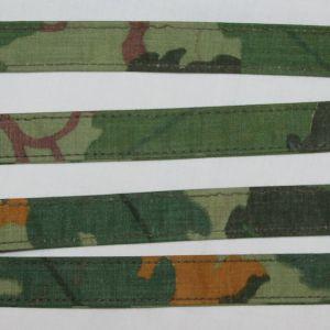 T011. 2 VIETNAM MITCHELL CAMOUFLAGE PACK STRAPS