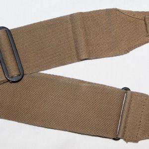 E030. WWII BRITISH MADE M-1936 MUSETTE BAG STRAP, 1943 DATED