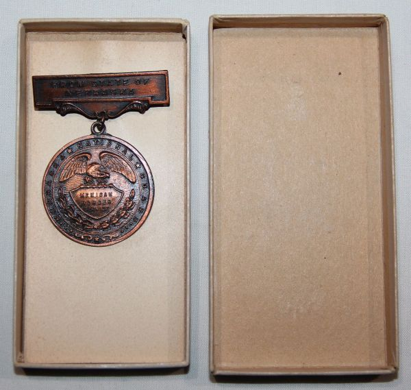 A009. NEBRASKA NATIONAL GUARD MEXICAN BORDER SERVICE MEDAL IN BOX
