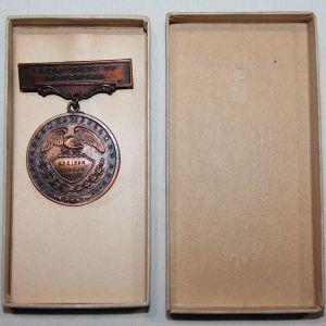 A009. NEBRASKA NATIONAL GUARD MEXICAN BORDER SERVICE MEDAL IN BOX