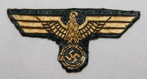 O.038. WWII KRIEGSMARINE COAST ARTILLERY CAP EAGLE