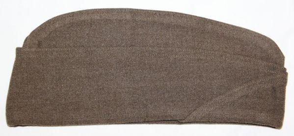 C015. NEAR MINT WWII 1942 DATED WOOL OVERSEAS, GARRISON CAP