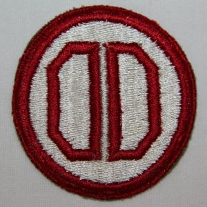 G039. WWII 31ST INFANTRY DIVISION PATCH