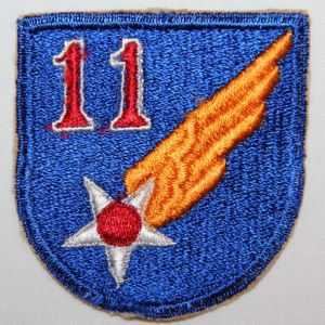 G047. WWII AAF 11TH AIR FORCE PATCH