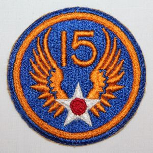 G050. WWII AAF 15TH AIR FORCE PATCH