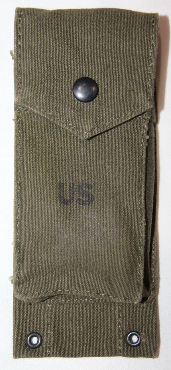 T041. VIETNAM 1967 DATED M14 RIFLE CLIP POUCH