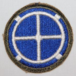 G057. WWII 35TH INFANTRY DIVISION PATCH
