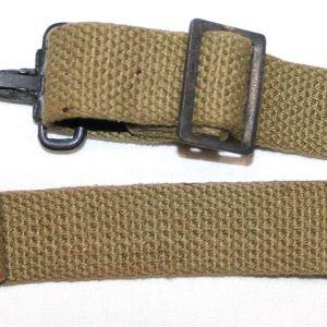 E012. WWII MEDIC BAG SHORT CANTLE STRAP