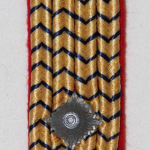 O.060. WWII GERMAN REICHSBAHN SHOULDER BOARD