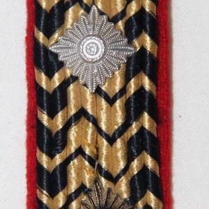O.061. WWII GERMAN REICHSBAHN SHOULDER BOARD