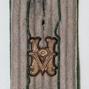 O.065. WWII GERMAN ARMY ADMINISTRATIVE OFFICIAL SHOULDER BOARD
