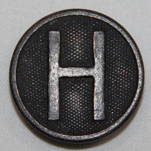 B102. WWI HEADQUARTERS ENLISTED UNIFORM COLLAR DISK