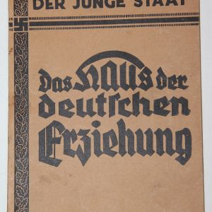 """R045. WWII HITLER YOUTH BOOK """" THE HOUSE THAT GERMANS ARE BUILDING"""""""