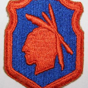 G080. WWII 98TH INFANTRY DIVISION PATCH