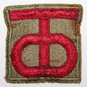 G078. WWII 90TH INFANTRY DIVISION PATCH