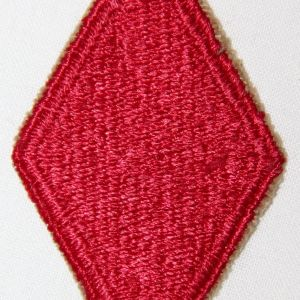 G079. WWII 5TH INFANTRY DIVISION PATCH