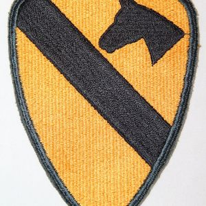 T098. EARLY VIETNAM 1ST CAVALRY DIVISION PATCH